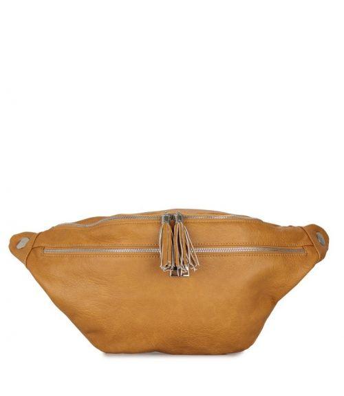 Τσαντάκι μέσης bum bag - Κίτρινο