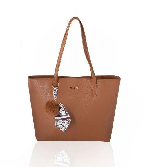Sarah τσάντα ώμου - Καφέ
