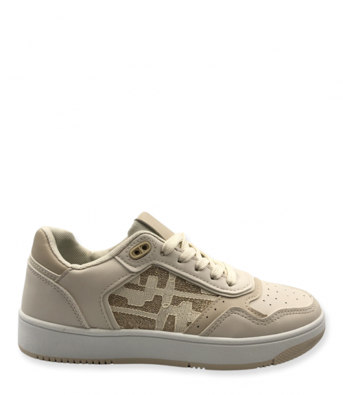 Sneakers με σχέδιο  - Μπέζ