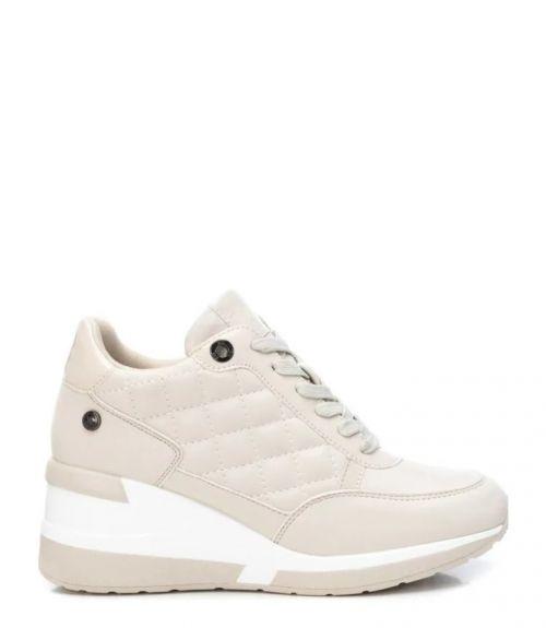 Xti sneakers με υπερυψωμένη σόλα - Μπέζ