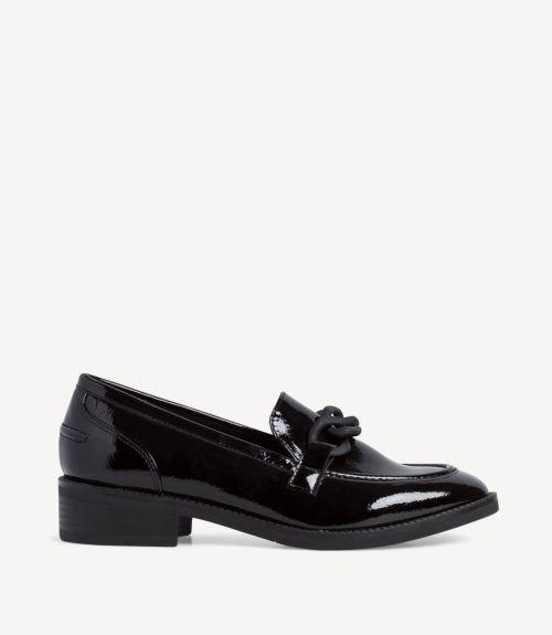 Tamaris λουστρίνι loafers - Μαύρο