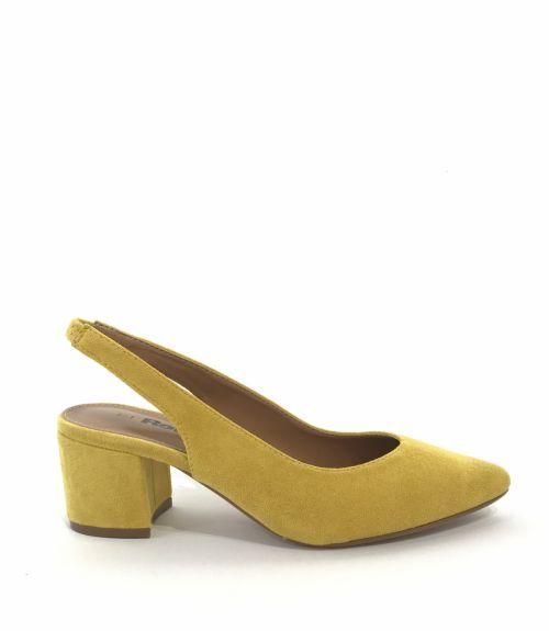 Sling back γόβες Refresh - Κίτρινο