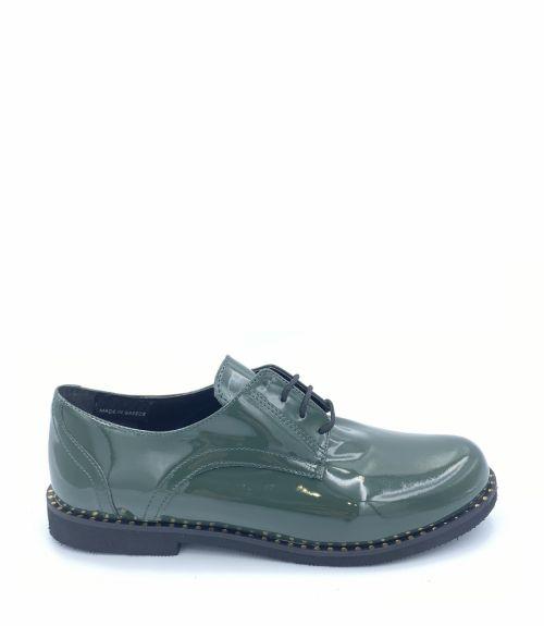 Λουστρίνι oxfords  - Πράσινο