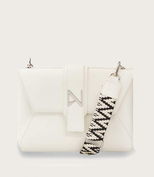 Leah τσάντα φάκελος - Λευκό