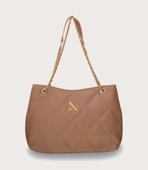 Gwen τσάντα καπιτονέ - Μπέζ