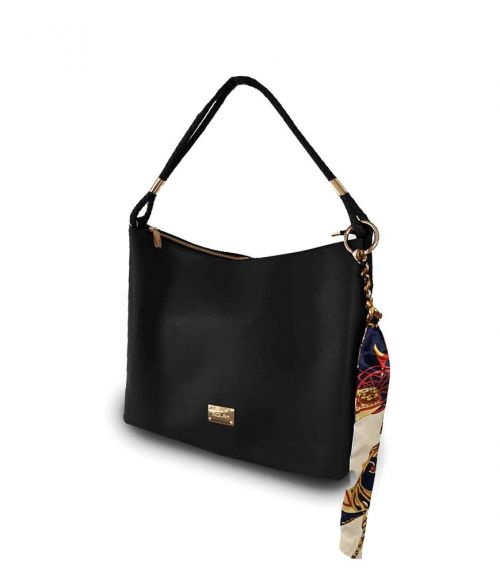 Τσάντα ώμου Elina  - Μαύρο