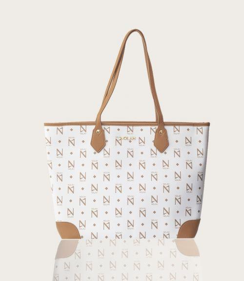 Vanity τσάντα ώμου - Λευκό