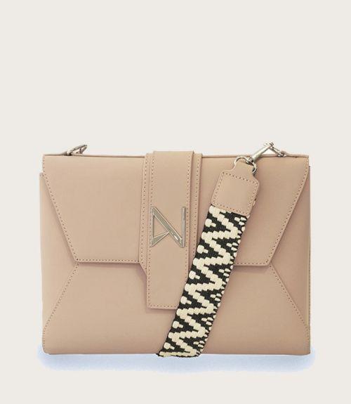 Leah τσάντα φάκελος - Ροζ