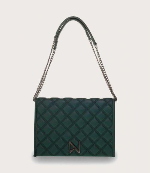 Seraina τσάντα καπιτονέ - Πράσινο