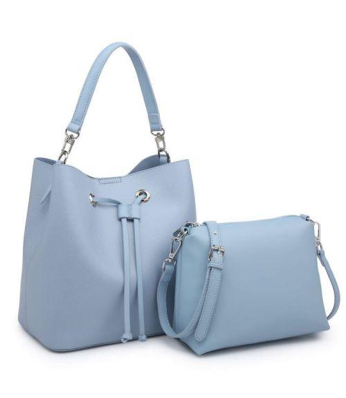 Τσάντα πουγκί  - Γαλάζιο