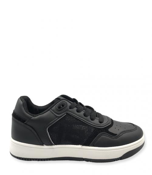Sneakers με σχέδιο  - Μαύρο