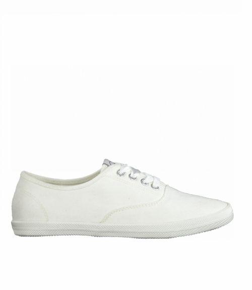 Tamaris πάνινα sneakers - Λευκό