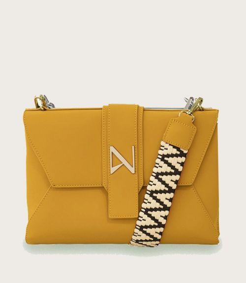 Leah τσάντα φάκελος - Κίτρινο